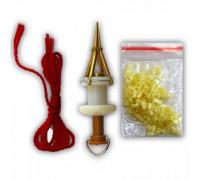 Разжим для силиконовых трубок (пучковяз), набор трубок в компл. шт.