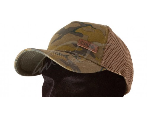 CHUNK™ Camo Trucker Cap - Badge  бейсболка