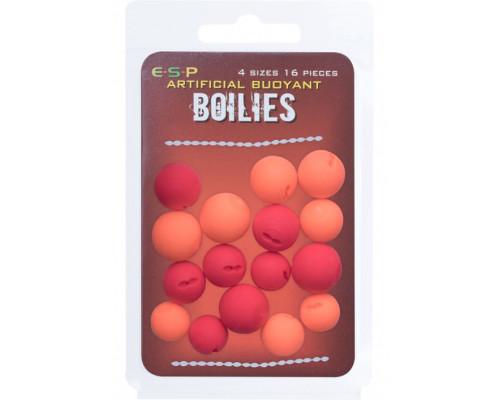Buoyant Boilies Red/Orange  плавающие искуственные бойлы