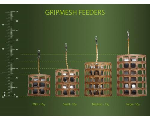"Gripmesh Feeder Small 20g  кормушка фидерная ""сетка"""