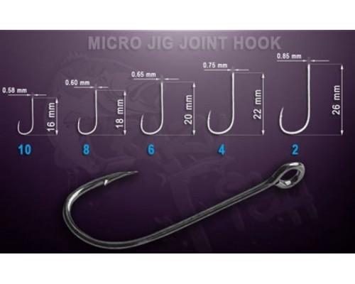 MJJH10_20 Одинарный крючок Micro Jig Joint Hook