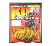 Крючок Decoy Worm 25 Hook Wide 1/0, 8 шт