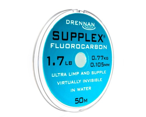 Supplex Fluorocarbon 1.7lb 0.105mm 50m  флюрокарбон