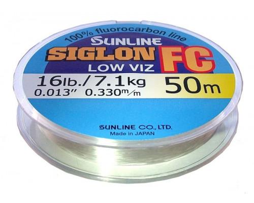 Флюорокарбон SUNLINE SIGLON FC  0.100mm 30m 0.7kg Clear