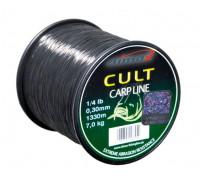 Леска CLIMAX CULT Carpline 0.28, 6.1 kg, черная 1/4 lbs (1500m)