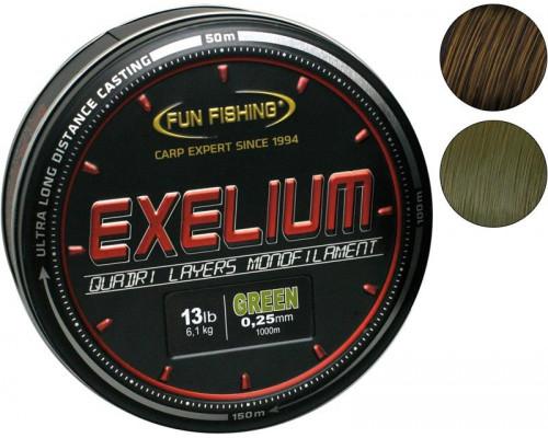 Excellium Kaki 0.25mm kg 1000m леска монофильная