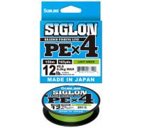 Шнур Sunline Siglon PE x4 темн-зеленый 150м #0.8/0,153мм 12lb