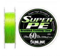Плетенный шнур SUNLINE SUPER PE  8Ib 0.148mm 150m 4kg Light Green