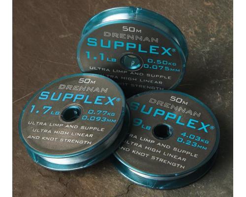 Supplex 50m 1.7lb 0.093mm  леска монофильная