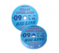 Team England Rig Line 0.09mm (1lb 10oz) 50m  леска монофильная