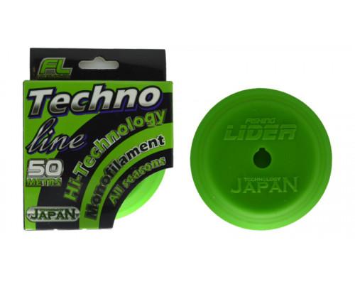 Леска Techno Line №1 0,10mm - 2,10kg 50m (силиконовая шпуля)