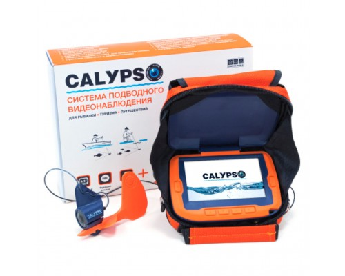 Подводная камера Calypso UVS-03 оранжевая