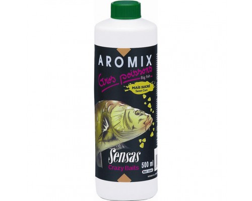 Ароматизатор Sensas AROMIX BIG FISH Sweet Corn 0.5л