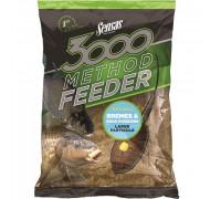 Прикормка Sensas 3000 Method Feeder BREAM&BIG FISH 1кг