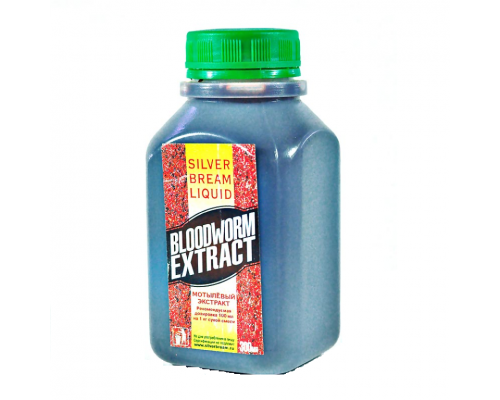 Silver Bream Liquid Bloodworm Extract 0.3л. (Мотыль)