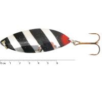 Блесна  колеблющаяся Spike Б. Крокодил, 21гр, (5 шт./уп.) 3010/17