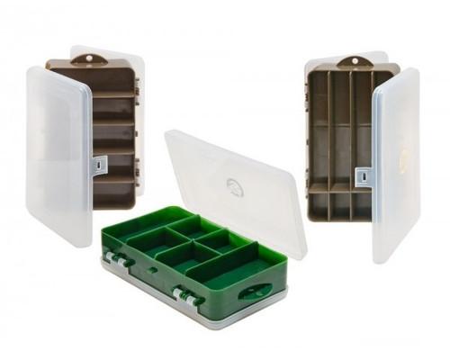 Коробка *ТРИ КИТА*  8+5 ячеек /190х112х50mm./ двухсторонняя ТК-31