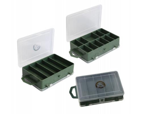 Коробка ТК-11 2-х сторонняя (11+5) 115*85*35 Три кита