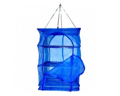KX-035   Сушилка для рыбы, синяя. сетчатая ткань