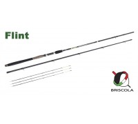 Фидер BRISCOLA FLINT, Light+, 274см., 3ч., Tip:21гр., 28гр., 49гр.