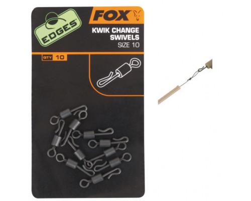 EDGES™ Kwik Change Swivel - Size 7  набор вертлюжков с быстросъемом