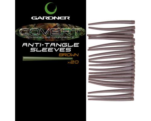 Covert Anti-Tangle Sleeves Brown  силиконовый отводчик