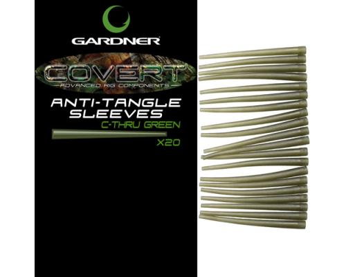 Covert Anti-Tangle Sleeves Green  силиконовый отводчик