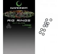 GARDNER  Застежка COVERT Q RINGS (20шт) QR
