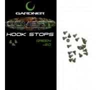 GARDNER  Стопор для кольца COVERT HOOK STOPS GREEN (20шт) CHSG