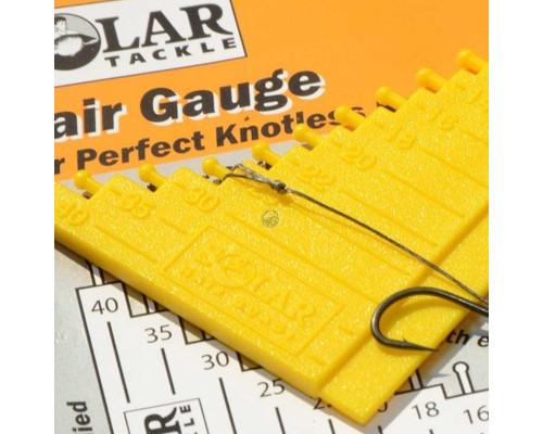 A - hair Gauge приспособление для измерения волосяного монтажа