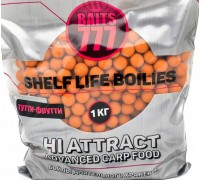 Бойлы тонущие 777 (Лихоносовы) Tutti-frutti (Тутти-фрутти) 20mm 1 кг