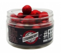 FFEM Super Soluble Boilies Strawberry 16/20mm