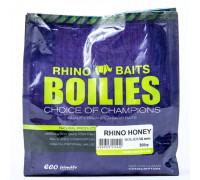 Бойлы насадочные Rhino Honey (мёд), 14 мм, пакет 0,5 кг