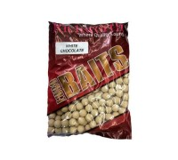 Euroboilies 20mm 1kg White Chocolate бойлы белый шоколад