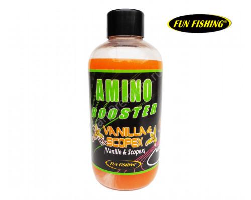 200ml Booster PAC Vanille Scopex жидкий аттрактант для прикормки ваниль/скопекс