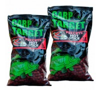 Pellets Carp Target 12mm 800g Rouge Hot Spice