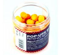 Pop-up, 12 mm, roll & dumbells, 70 грамм, C4 (цитрус), золотой-оранжевый флюро