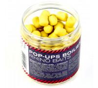 Pop-up, 12 mm, roll & dumbells, 70 грамм, Meadow Honey (луговой мёд), жёлтый флюро