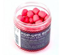 Pop-up, 12 mm, roll & dumbells, 70 грамм, Kraken (кальмар с клюквой), розовый флюро