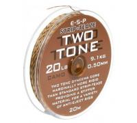 Two Tone 20lb Camo поводковый материал в оплетке