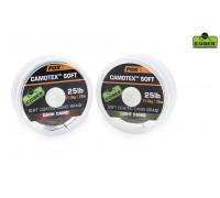 EDGES™ Camotex™ Soft - Dark Stiff 15lb - 20m  поводковый материал, в мягкой оплетке
