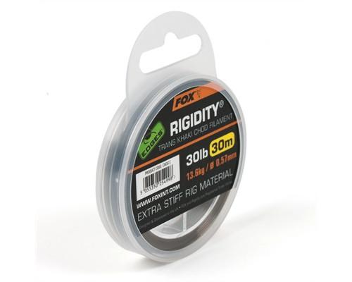 EDGES Rigidity - Trans Khaki 30lb / 0,57 30m поводковый моно материал