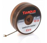 Лидкор TASKA iCore 45lb 10m Brown