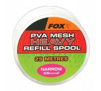 Narrow 10m/25mm Refill Spool Heavy Mesh PVA медленно растворимая сетка, запаска