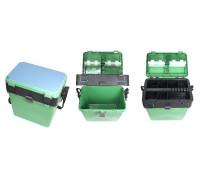 Ящик зимний ТРИ КИТА зеленый (380*360*240)